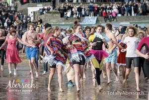 Abersoch RNLI New Year's Day Sea Dip