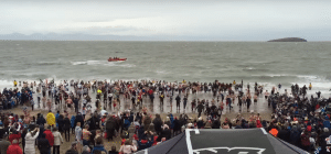 Abersoch New Years Day Dip 2020