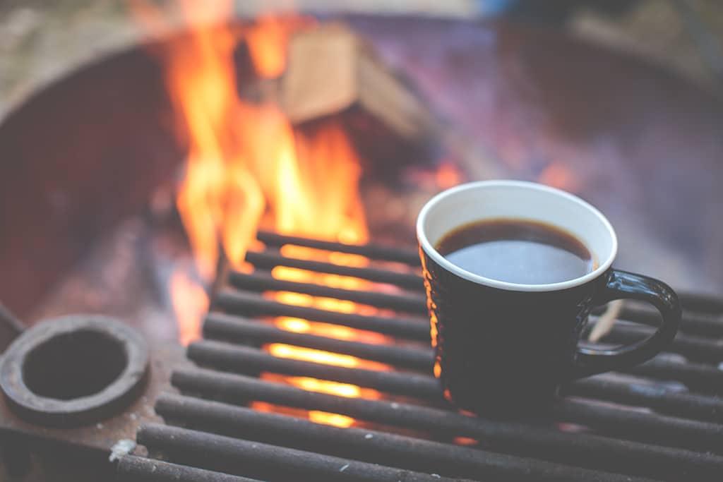Abersoch Camping Campfire